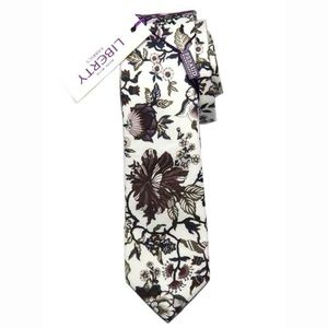 Feraud Liberty of London Tie Floral Cotton Men's